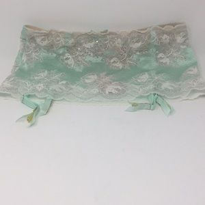 Victoria's Secret Garter with Thong NWT